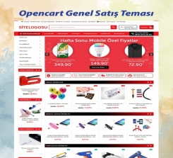 Opencart E-ticaret Sistemi